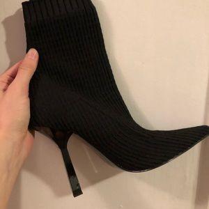 Zara Shoes - Zara sock boot heels